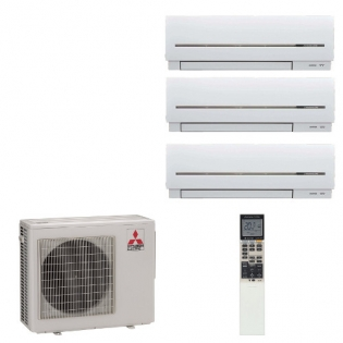 Мульти сплит-система Mitsubishi Electric MSZ-SF15VA + MSZ-SF20VA + MSZ-SF25VE/MXZ-4D72VA