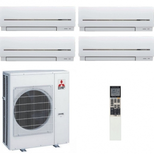 Мульти сплит-система Mitsubishi Electric MSZ-SF25VEx3+MSZ-SF50VE/MXZ-6C122VA