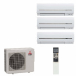 Mitsubishi Electric MSZ-SF15VA + MSZ-SF20VA + MSZ-SF25VE/MXZ-4D72VA